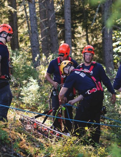 Rope Rescue training